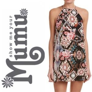 Show Me Your Mumu Gomez Halter Mini Dress
